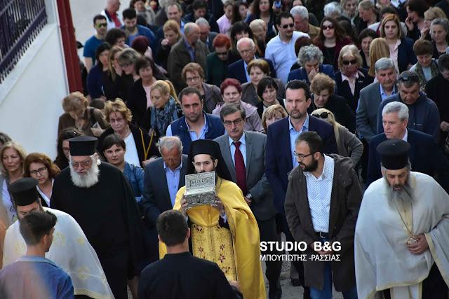 Ιερά Λείψανα των Αγίων Ραφαήλ, Νικολάου και Ειρήνης στο Μαλαντρένι Αργολίδας