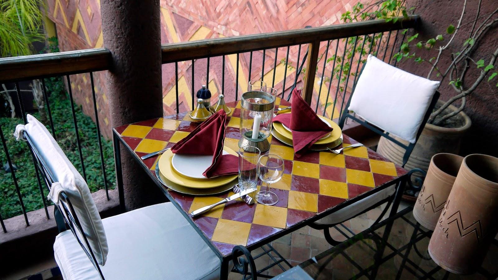 Dinner at Riad Noga Marrakesh
