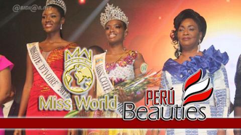 Miss World Cote d'Ivoire 2018
