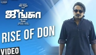 Junga | Rise of Don Video Song | Vijay Sethupathi, Sayyeshaa | Siddharth Vipin | Gokul