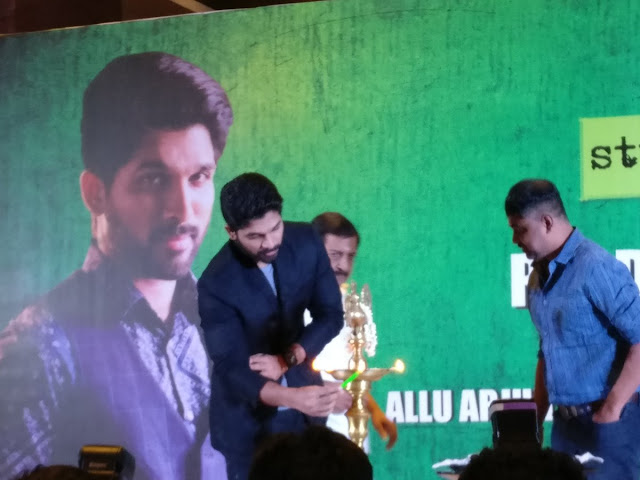 allu arjun movie with linguswamy movie launch photos
