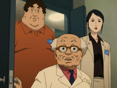 Tokita, Shima y Atsuko en Paprika, detective de los sueños - Cine de Escritor