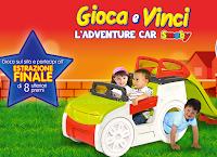 Logo Gioca e vinci 86 Adventure Car per i tuoi bambini