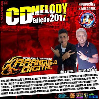 CD DE MELODY DO SUPER SONZÃO O CARANGUEIJO DIGITAL EDIÇÃO DE MARÇO