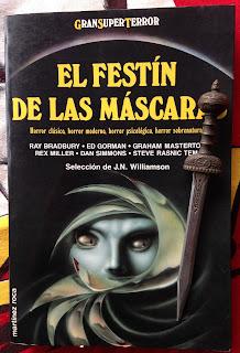 Portada del libro El festín de las máscaras, de varios autores