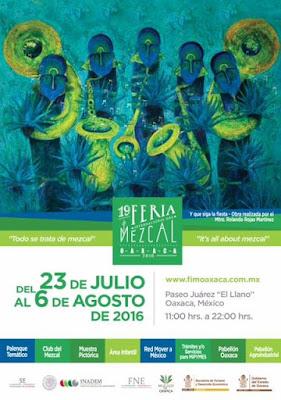 Feria del mezcal oaxaca 2016