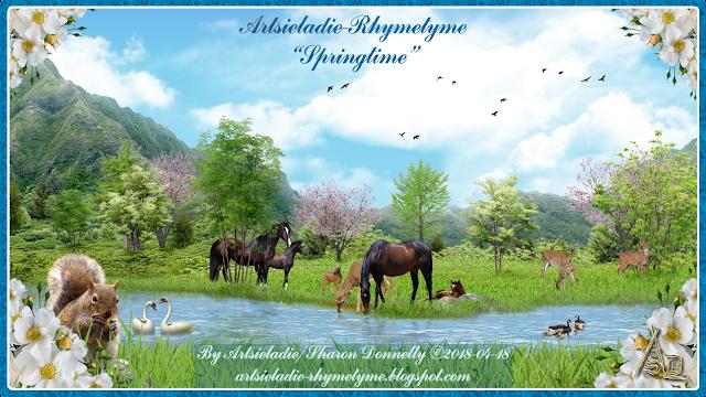 Rhymetyme Springtime by Artsieladie