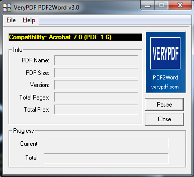 Mengubah file PDF menjadi Word