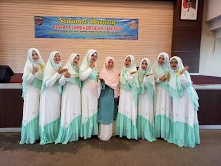 Tim Qosidah Korpri Kecamatan Cipayung pada lomba Pentas Seni dan Jiwa Korsa Tingkat Kota Depok 2018