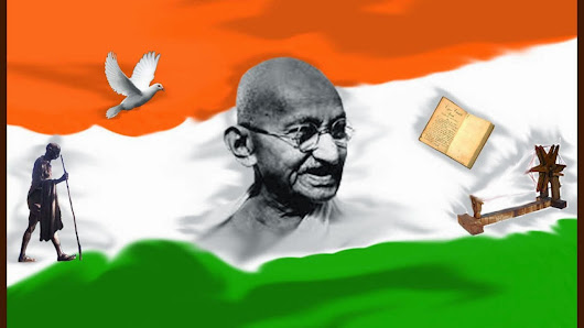 Gandhi Freedom Fighter Biography Profile Contribution (Mohandas Karamchand Gandhi - M.K.Gandhi)