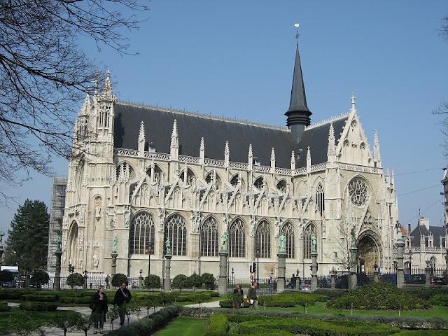Igreja de Nossa Senhora de Laeken em Bruxelas