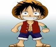 لعبة تلبيس لوفي تشيبي Chibi Luffy Dress up