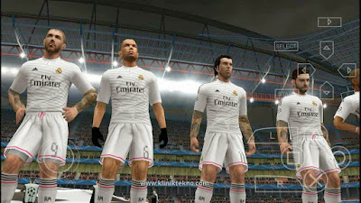 PES 2015 Real Madrid Player Update