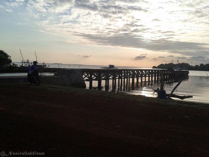 Pelabuhan Mrican, desa Kemujan, Karimunjawa