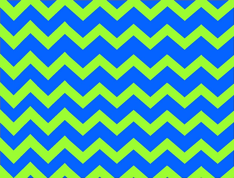 blue and green chevron birthday invitation everyday parties