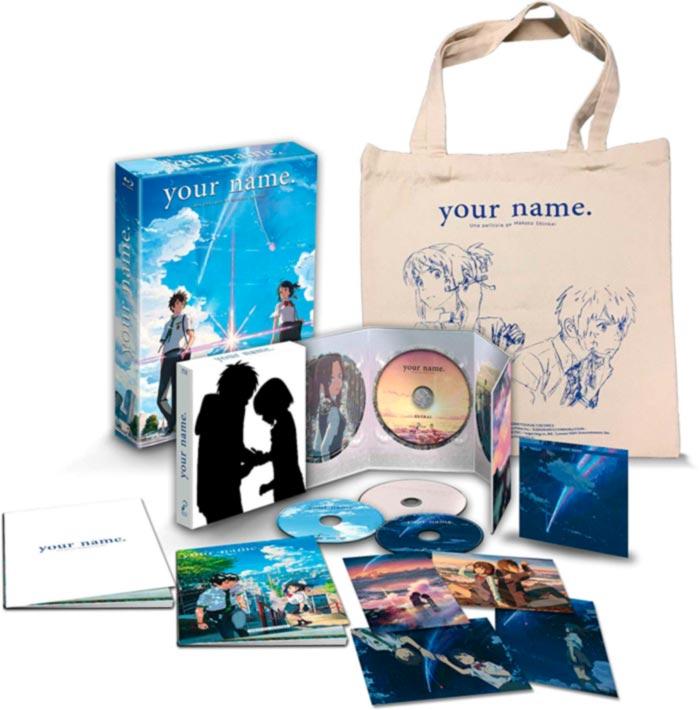Your Name edición coleccionista A4 BD