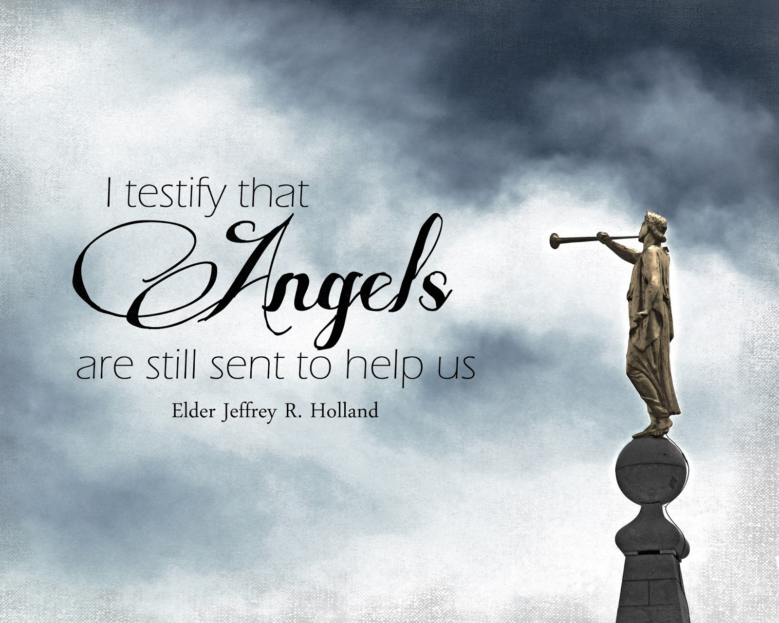 "A Pocket Full Of LDS Prints: ""Angels Are Still Sent To"