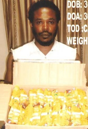 NDLEA Burst Man Attempting to Smuggle Drugs in Noodles Packs Through Enugu Int'l Airport (Photos)