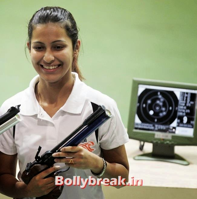 India's Heena Sidhu, Check out India's 10 Hottest sports women