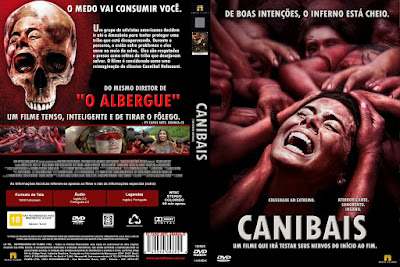 Filme Canibais (The Green Inferno) DVD Capa
