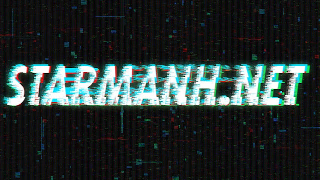 Free PSD Glitch Text Effect