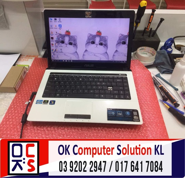 [SOLVED] TAK BOLEH ON ASUS A43S | REPAIR LAPTOP CHERAS 1