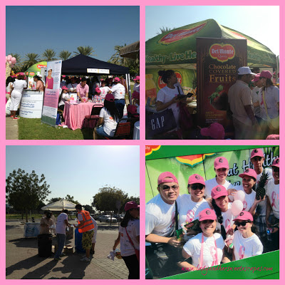 booths at_the Pink Walkathon