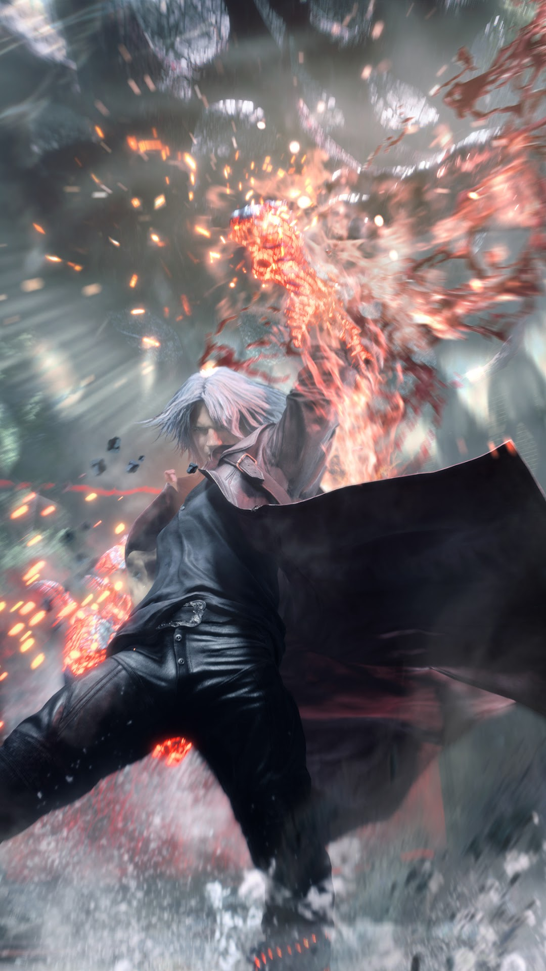 dante balrog devil arm devil may cry 5 4k wallpaper 5 dante balrog devil arm devil may cry 5