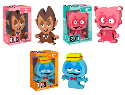 Blox Vinyl Figures by Funko - General Mills Monsters (Count Chocula, Frankenberry & Boo Berry)