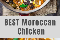 BEST Moroccan Chicken