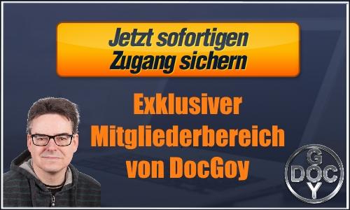 Interner Mitgliedsbereich DocGoy