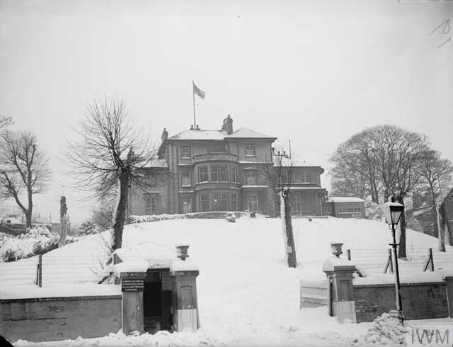 British Royal Navy headquarters at Greenock on 24 January 1942 worldwartwo.filminspector.com