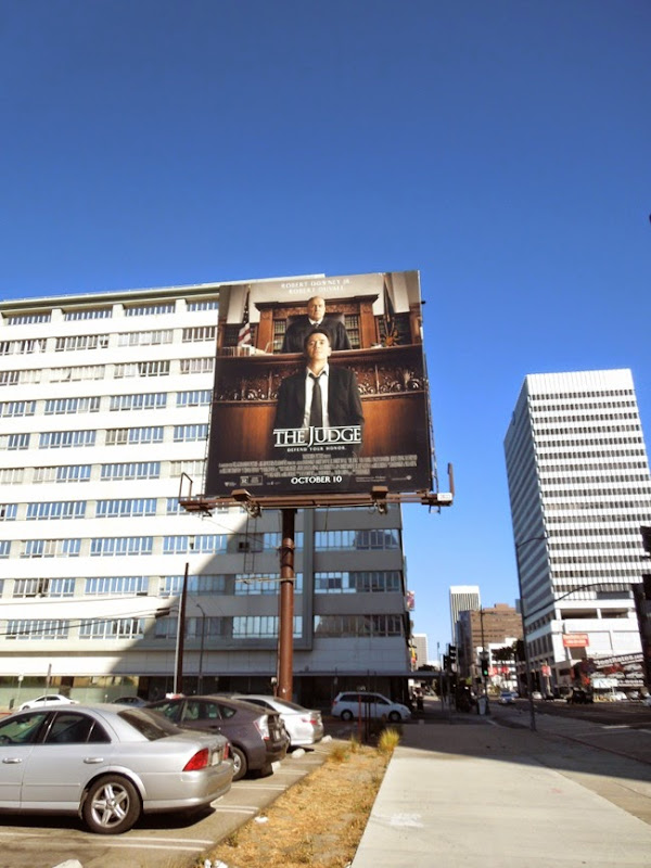 The Judge billboard ad