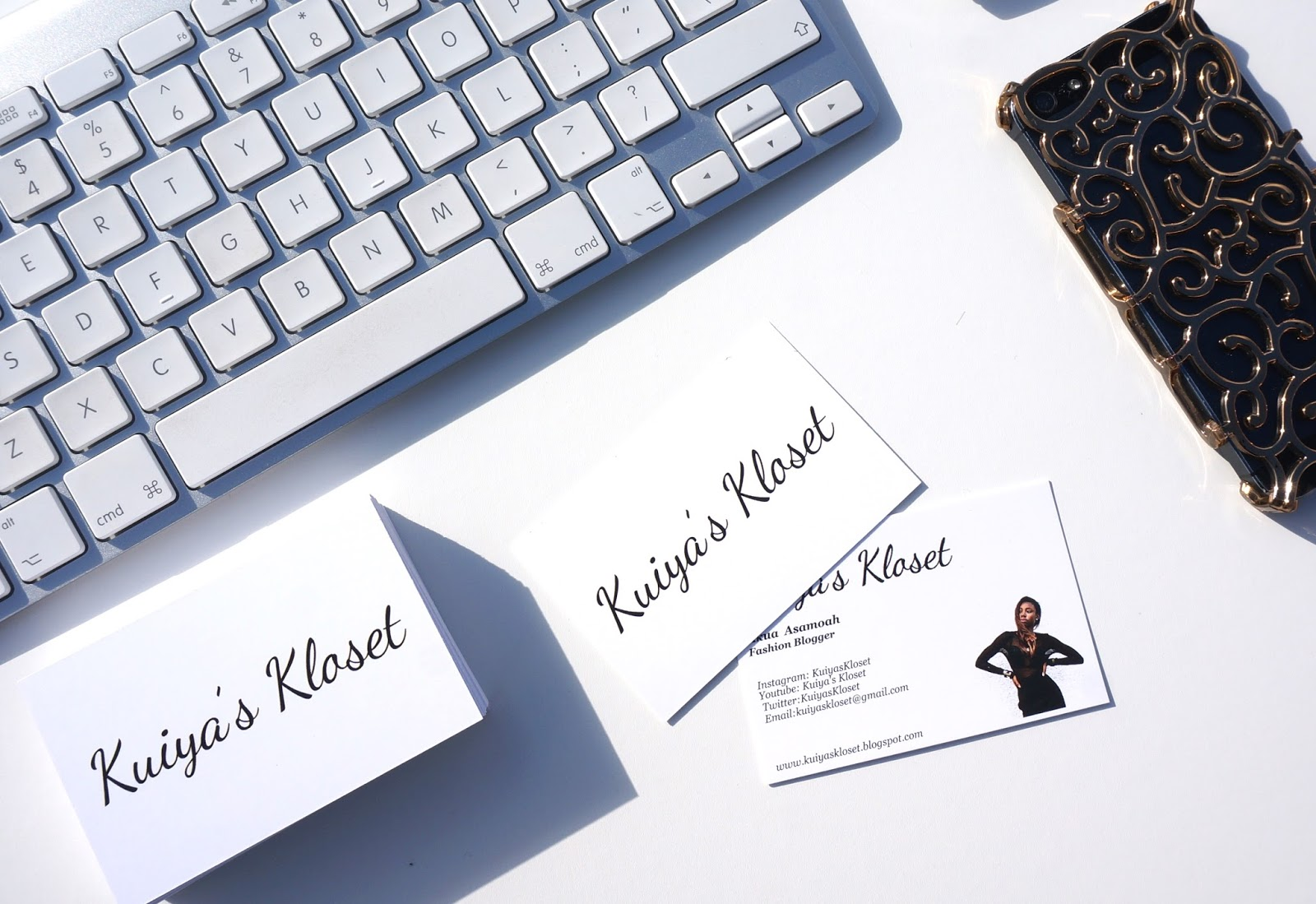 NEW BUSINESS CARDS WITH VISTAPRINT