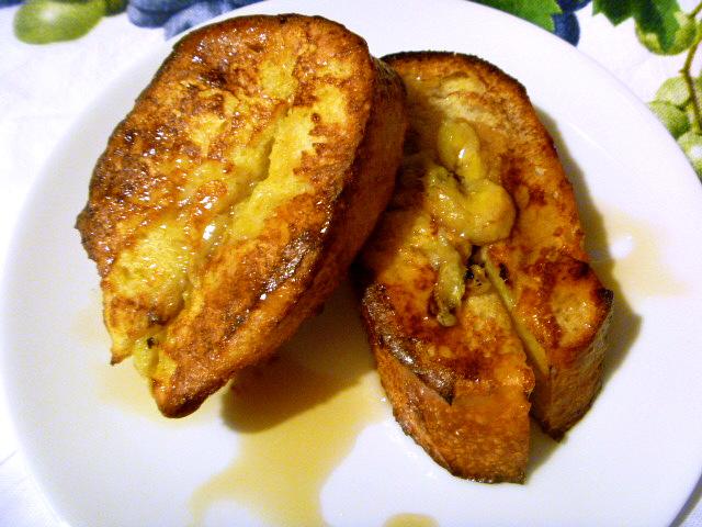 Banana Stuffed French Toast - Slice of Southern