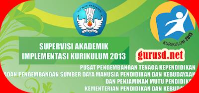 Instrumen Supervisi Kurikulum 2013 Untuk Sekolah Dasar