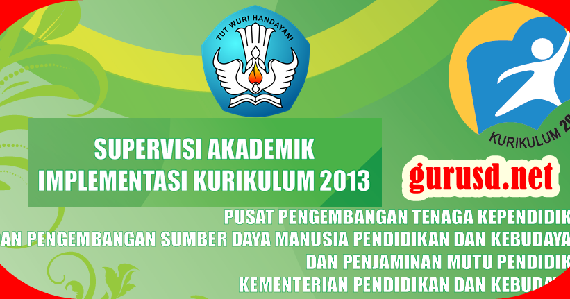 Instrumen Supervisi Kelas Kurikulum 2013 Untuk Sekolah Dasar Kurikulum 2013 Revisi
