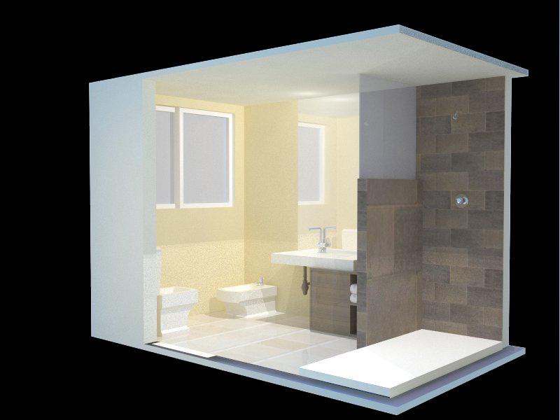 Ba os qu distancias m nimas haran c modo mi cuarto de for Medidas de duchas para banos