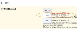 Cara Mengaktifkan HTTPS di Blogger blogspot