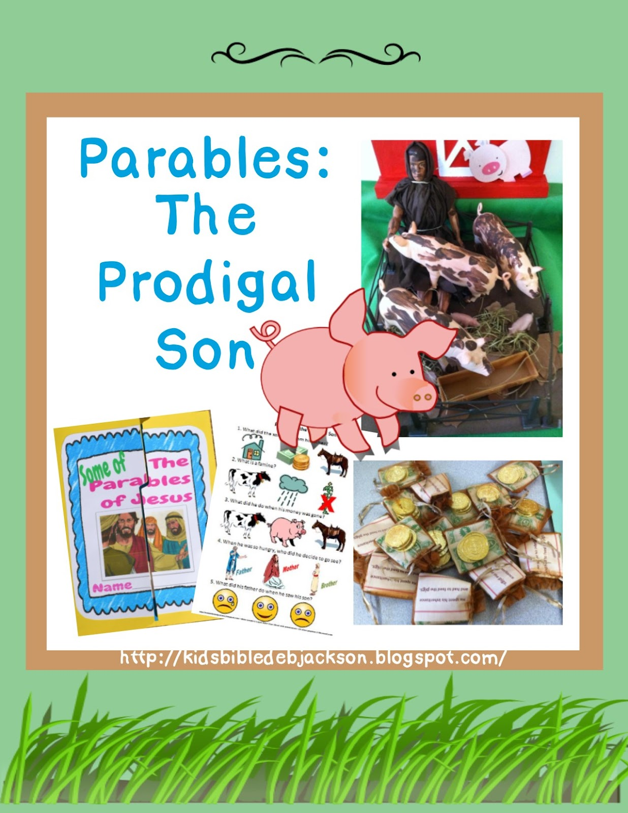 Bible Fun For Kids The Prodigal Son