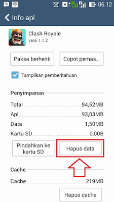 Cara Main 2 Akun Clash Royale di HP Android