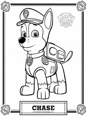 Printable Coloring Pages Paw Patrol Happy Birthday ...