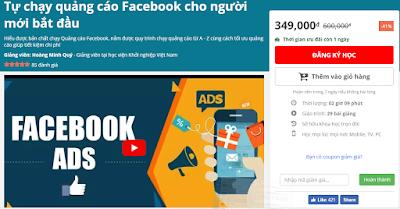Chia Sẻ Khóa Học Tự Chạy Quảng Cáo Facebook Cho Người Mới Bắt Đầu