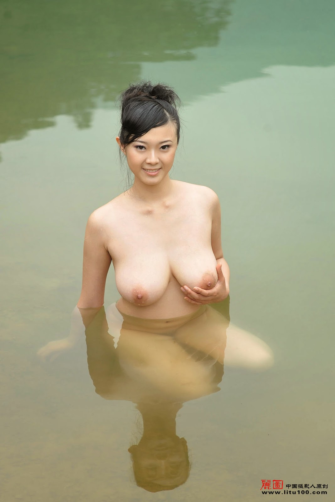 Chinese Nude Model Bing Yi Litu100  Chinesenudeart Photos - Chinese -5010