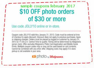 free Walgreens coupons for february 2017