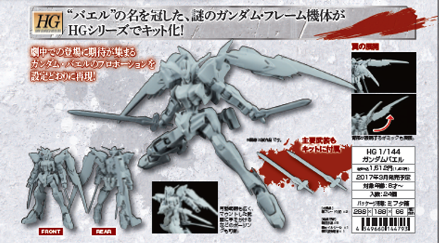 Image result for hg bael gundam