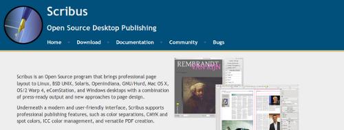 Das kostenlose Desktop-Publishing-Programm Scribus