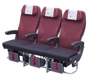 JAL new Economy Class seats - SKY WIDER