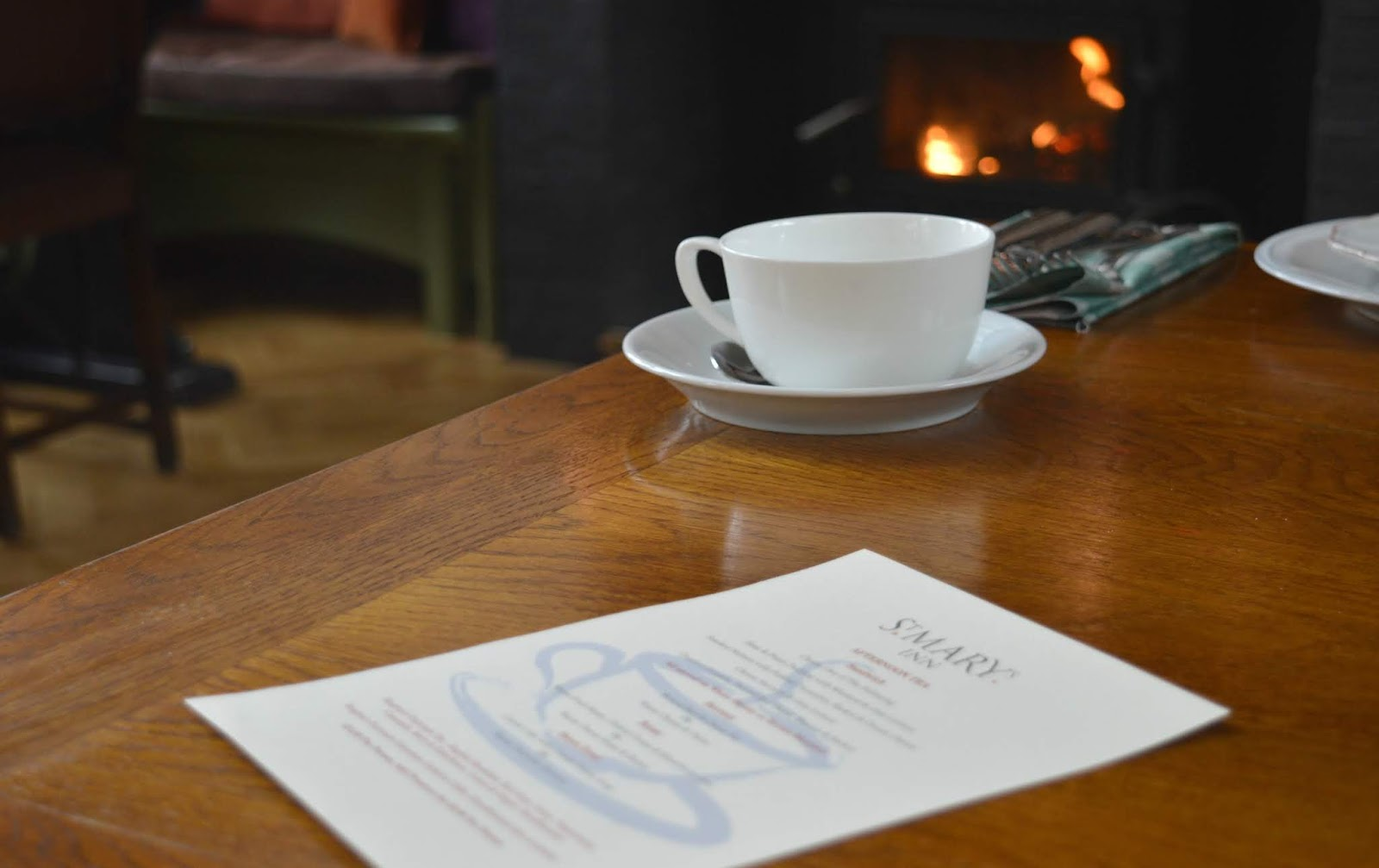 St Mary's Inn Northumberland - Rustic Afternoon Tea