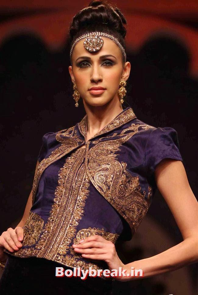Alesia Raut, Bollywood Celebs at India Bridal Fashion Week